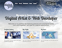 DigitalJoni Portfolio Site