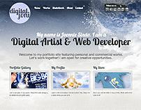 DigitalJoni Portfolio Site