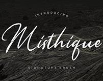Misthique Script Font
