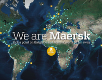 We are Maersk website