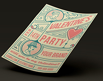 Free Template for Valentine's Party
