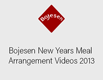 Bojesen New Years Meal Arrangement Videos 2013