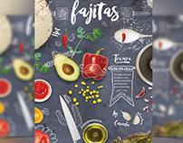 Fajitas Flyer