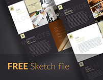 FREE Landing Page - Interior Design