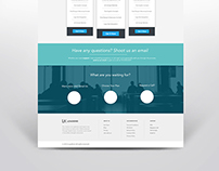 Landing Page Design for LogoKind