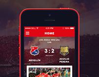 FC Medellín(iPhone App)