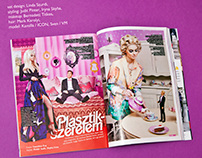 Plastic love for Glamour Magazine