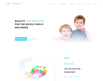 Tooth Brush Landing Page
