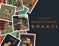 Women mystics in Bhakti- Bengal Pattachitra style