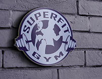 """Super Fit"" logo concept"
