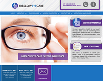 Breslow Eye Care - Website Design