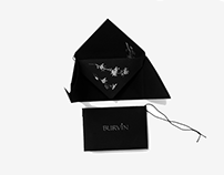 Этикетки для бренда модной белорусской одежды BURVIN.
