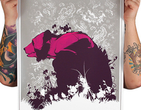 Silk Screen Art Prints
