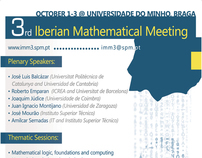3rd Iberian Mathematical Meeting