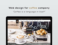 Web Design for Coffee Brand