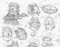 Comic design: Character sketchbook