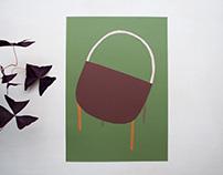 """""""Improbables"""" series/ Paper scraps compositions"""