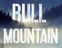 Bull Mountain book cover design