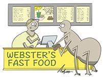 Webster's fast food