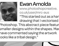 Featured in Photoshop Creative Magazine Issue 85