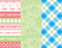 Cutie Pie Baby Card Kit