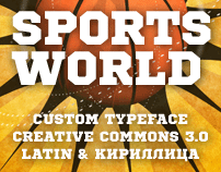 Sports World (Typeface)