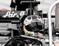 Team Lotus F1 - Duxford Straight Test 2011
