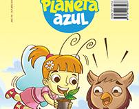 New comicbook series Revista em Quadrinhos Planeta Azul