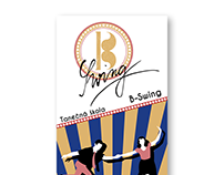 Banner for Swing Dance school