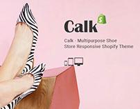 Calk Shoe Store Responsive Free Shopify Theme