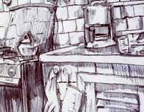 ballpoint drawings II