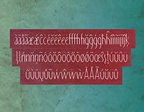 Pisak / font