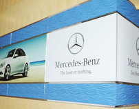 Mercedes Benz Branding 415,000-square-foot facility