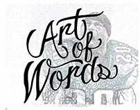 """Art of Words"" Campaign"