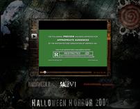 Flash Video Interface - Halloween