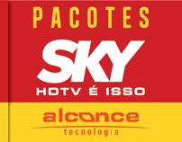 Sky HDtv - Promoção de assinatura e pacotes