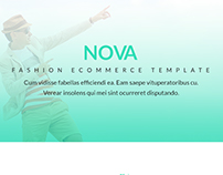 Nova - Fashion eCommerce PSD & HTML5 Template