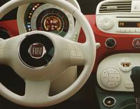 Fiat 500 - Mala Direta Painel