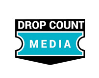 DROP COUNT MEDIA - Logo Design