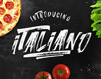 Italiano Brush Font