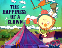 Animation - The happiness of a clown