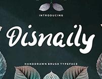 Disnaily Display Font