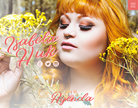 Website Isabela Huk - The Voice Brasil