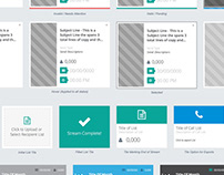Automated Marketing App | UX / UI / Front-End