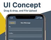 Drag & Drop, and File Upload