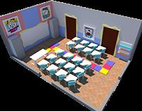 Isometric Room - BRINQUEDOTECA