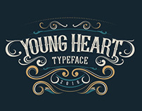 Young Heart Typeface by alit_design