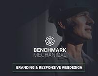 Benchmark Mechanical | Rebrand & Responsive Design