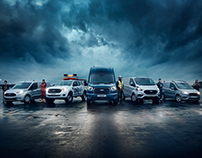 Ford 'Proud To Serve' - Retouching & CGI