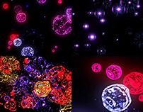 Abstract Fireworks - VJ Loop Pack (3in1)